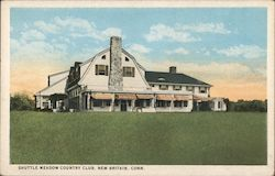Shuttle Meadow Country Club Postcard
