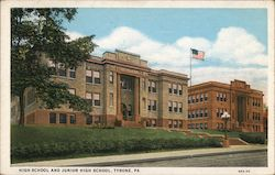 High School and Junior High School Postcard