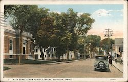 Main Street from Public Library