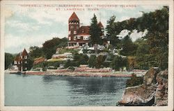 Hopewell Hall, Alexandria Bay, St. Lawrence River Postcard