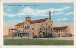 Ponca City Hospital Postcard