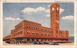 Dearborn Station Postcard