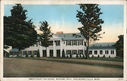 Sweetheart Tea House, Mohawk Trail Postcard