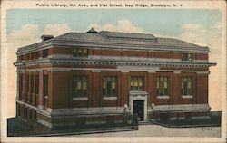 Public Library, 4th Ave and 51st Street, Bay Ridge