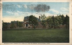 Main Building, Connecticut Hospital for the Insane