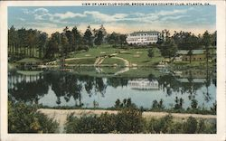 View of Lake Club Hosue, Brook Haven Country Club