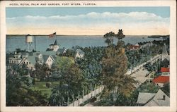 Hotel Royal Palm and Garden Postcard