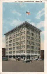 W.F. Stovall Office Building Postcard