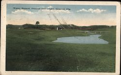 Water Hazard, Ormond Golf Links Postcard