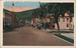 Bridge Street from Main Postcard