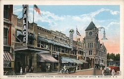 Hanover Street Palace Theatre, Chinese Restaurant, Post Office Postcard