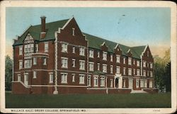 Wallace Hall, Drury College Postcard