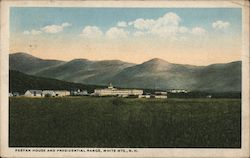 Fabyan House and Presidential Range Postcard