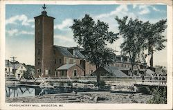 Pondicherry Mill Postcard