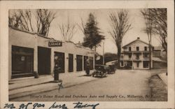 Sitzer's Home Hotel and Dutchess Auto and Supply Co.