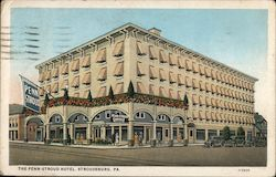 The Penn Stroud Hotel Postcard