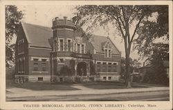 Thayer Memorial Building (Town Library)