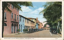 Everglades Club on Worth Avenue Postcard