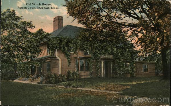 Old Witch House, Pigeon Cave Rockport Massachusetts