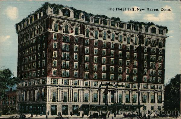 The Hotel Taft New Haven Connecticut