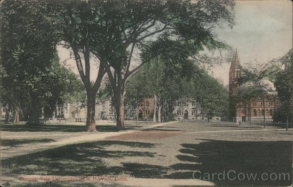 Campus, Yale University New Haven Connecticut