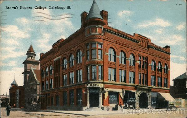 Brown's Business College Galesburg Illinois
