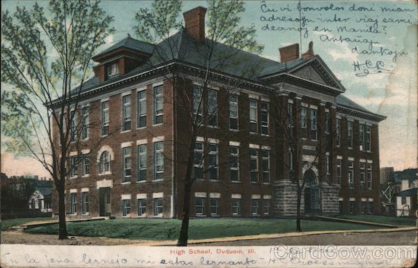 High School Du Quoin Illinois
