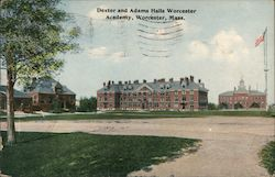 Dexter and Adams Hall Worcester Academy