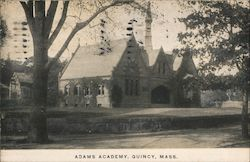 Adams Academy Postcard