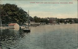 Lincoln Park and Lake Quinsigamond