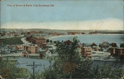 View of Revere & Beach, from Beachmont Hill