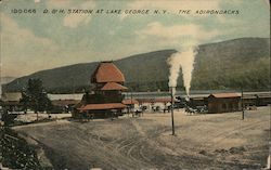 Delaware and Hudson Station in the Adirondacks