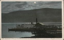 Moonlight from Old Fort William Henry