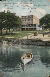 Peak's Island House Postcard