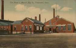 The Plume & Atwood Mfg. Co. Postcard