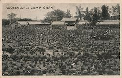 Roosevelt at Camp Grant