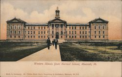 Western Illinois State Normal School Postcard