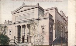 First Church of Christ Scientist, Drexel Blvd. and 40th Street Postcard