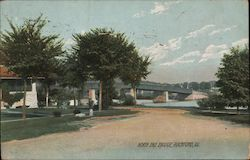 North End Bridge Rockford, IL Postcard