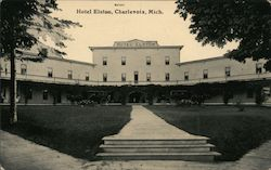 Hotel Elston Postcard
