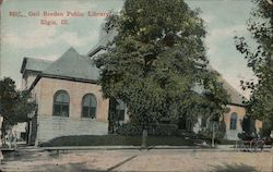 Gail Borden Public Library Postcard