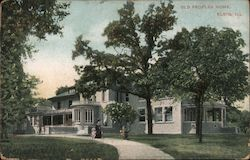 Old Peoples Home Postcard
