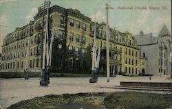 National House Postcard
