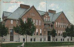 Franklin School Postcard