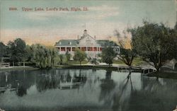 Upper Lake, Lord's Park Postcard