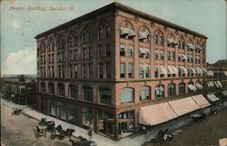 Powers Building Postcard