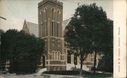 Grace M.E. Church Postcard