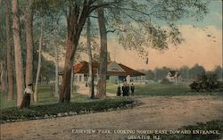 Fairview Park, Looking North East Toward Entrance Postcard