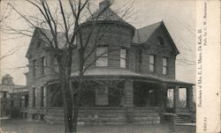 Residence of Mrs. E.L. Mayo