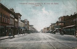 Commercial Avenue, Looking N.W. from 6th Street